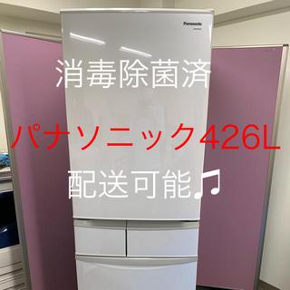 パナソニック(Panasonic)のパナソニック冷凍冷蔵庫 2012年製 426L(冷蔵庫)