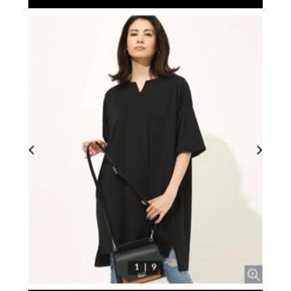 アズールバイマウジー(AZUL by moussy)の新品アズールbyマウジー トップス ロング(Tシャツ(半袖/袖なし))