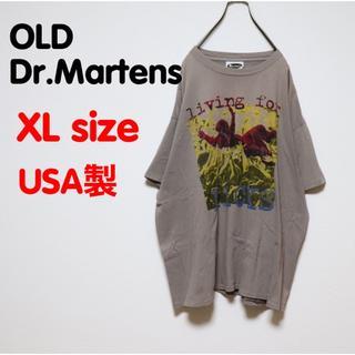 ドクターマーチン(Dr.Martens)のドクターマーチン Tシャツ  OLD USED 古着 バックプリント USA古着(Tシャツ/カットソー(半袖/袖なし))