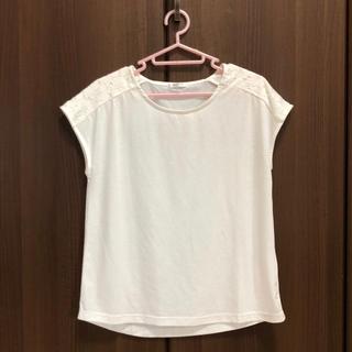 ハニーズ(HONEYS)のHoneys 美品 肩レース フレンチスリーブ Tシャツ(カットソー(半袖/袖なし))