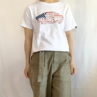 ヴァンズ(VANS)のVANS 星条旗TEE(Tシャツ(半袖/袖なし))
