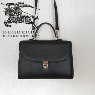 BURBERRY - BURBERRY バーバリー ショルダーバッグ ブラックレザー ノバチェック