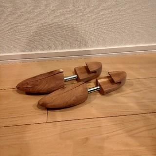 MUJI (無印良品) - 無印良品 レッドシダーシューキーパー25~28cm用