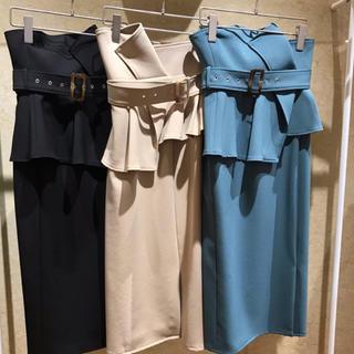 snidel - snidel  ウエストポンチタイトスカート
