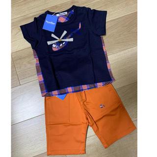 familiar - ファミリア  Tシャツ・パンツ セット♡