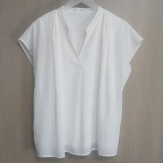 フェリシモ(FELISSIMO)のフェリシモ 半袖 カットソー  Lサイズ(カットソー(半袖/袖なし))