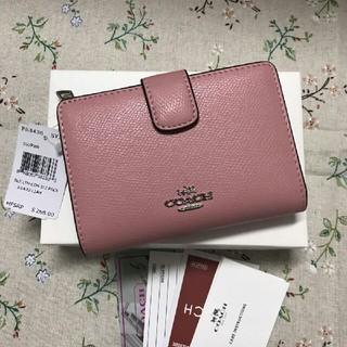 COACH - 人気 (COACH )二つ折り 財布F53436