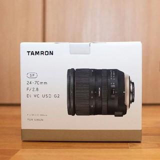タムロン(TAMRON)の【新品同様品】TAMRON 24-70mm F2.8 G2 Fマウント(レンズ(ズーム))