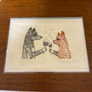 H.P.FRANCE - コーラルアンドタスク 刺繍カード Raise a Glass