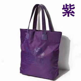 COACH - 【新品未使用】 COACH コーチ ナイロン×レザートート 紫