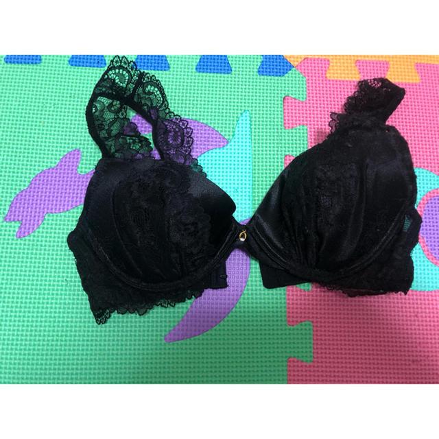 aimer feel(エメフィール)のエメフィール ブラ レース ブラック B70 新品未使用 レディースの下着/アンダーウェア(ブラ)の商品写真
