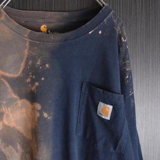 カーハート(carhartt)のcarhartt カーハート ブリーチ デストロイヤー ロングスリーブ  ロンT(Tシャツ/カットソー(七分/長袖))