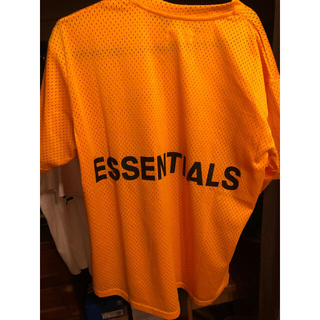 FEAR OF GOD - 【中古】Essentials Yellow Mesh T  メッシュ