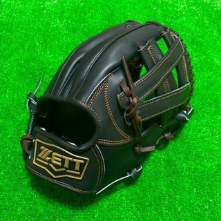 ゼット(ZETT)の新品 高校野球対応 ZETT プロモデル 硬式用 内野手用 グローブ 台湾モデル(グローブ)