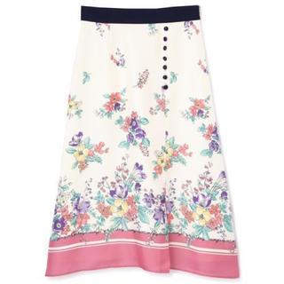 プロポーションボディドレッシング(PROPORTION BODY DRESSING)の【新品】PROPORTION BODY DRESSING  花柄スカート(ロングスカート)
