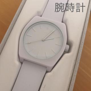 アディダス(adidas)のアディダス 腕時計 白(腕時計)