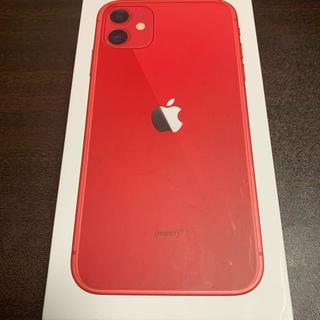 Apple - iPhone 11 64GB RED SIMロック解除済
