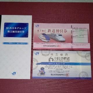 JR - JR西日本 株主優待割引券