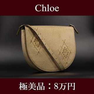 クロエ(Chloe)の【全額返金保証・送料無料・極美品】クロエ・ショルダーバッグ(F053)(ショルダーバッグ)