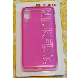 ミルクフェド(MILKFED.)の☆新品未使用☆ ミルクフェド アイフォン ケース iPhone X XS(iPhoneケース)