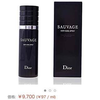 ディオール(Dior)の新品未使用 Dior sauvage 香水(ユニセックス)