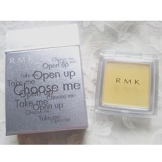 アールエムケー(RMK)の新品未使用☆RMKパウダーアイズ/ブライトイエロー(アイシャドウ)