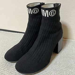 エムエムシックス(MM6)の美品✨MM6 ブーツ(ブーツ)