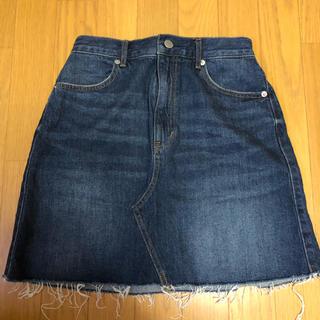 GU - 【新品/未着用】GU デニムスカート デニムミニスカート ミニスカート