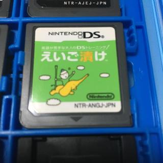 ニンテンドーDS(ニンテンドーDS)のえいご漬け ds(携帯用ゲームソフト)