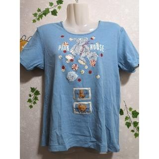 PINK HOUSE - ピンクハウス レディース Tシャツ トップス くま クマ 半袖