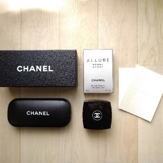 CHANEL - シャネル CHANEL メガネケース&香水空箱&クリーム空きケース 3点セット
