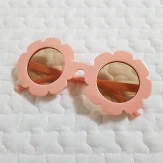 ボンポワン(Bonpoint)のフラワー サングラス キッズ ピンク 韓国子供服 monmimi(サングラス)
