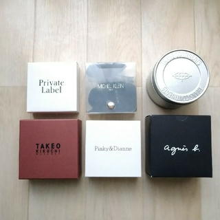 agnes b. - 腕時計BOX・ギフトBOX(小物入れ)・空箱   6個セット