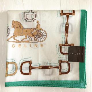 celine - 【新品未使用】CELINE ブランドハンカチ