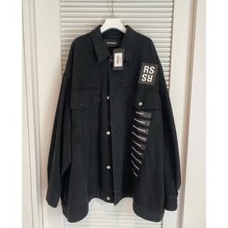 ラフシモンズ(RAF SIMONS)のRAF SIMONS  Printed Denim Jacket (Gジャン/デニムジャケット)