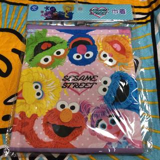 セサミストリート(SESAME STREET)の新品 セサミストリート 巾着袋 ドット(キャラクターグッズ)