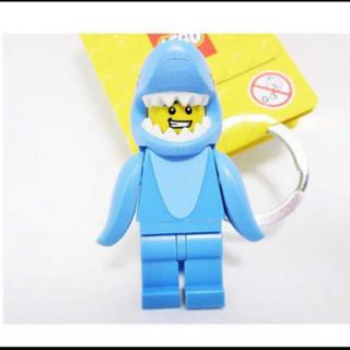 レゴ(Lego)のサメ キーチェーン キーリング(キーホルダー)