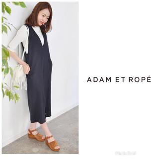 Adam et Rope' - ADAM ET ROPE カルゼジャージージャンパーSK ワンピース