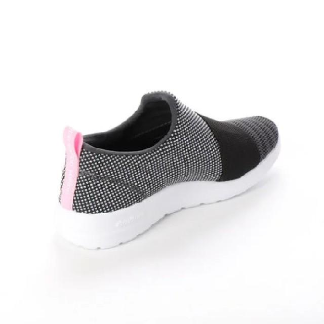 adidas(アディダス)の限定!進化系スリッポン!アディダス.アディファイン新品スニーカー黒23.5 レディースの靴/シューズ(スニーカー)の商品写真