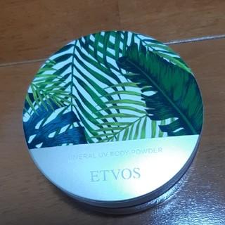 エトヴォス(ETVOS)のETVOS エトヴォス ミネラルUVボディパウダー(ボディパウダー)