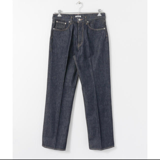 COMOLI - AURALEE HARD TWIST DENIM 5P PANTS