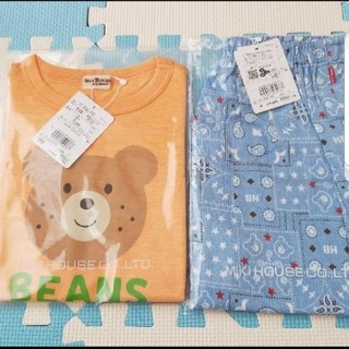 HOT BISCUITS - ミキハウス ホットビスケッツ パンツ 半袖Tシャツ 110センチ 新品