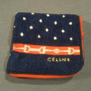 celine - CELINE タオルハンカチ(ポーチタイプ)