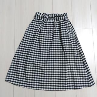 GU - GU ガールズ ギンガムチェック スカート