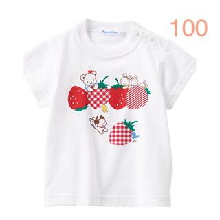 familiar - ファミリアTシャツ100サイズ