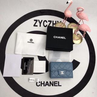 CHANEL - 【CHANEL】 シャネル 三つ折り財布