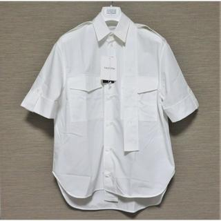 ヴァレンティノ(VALENTINO)の定価7万 VALENTINO シャツ 37 メンズ ホワイト イタリア製(シャツ)