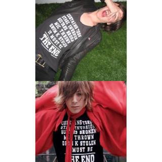 ディオールオム(DIOR HOMME)のdior homme ディオールオム 05aw END Tシャツ エンド(Tシャツ/カットソー(半袖/袖なし))