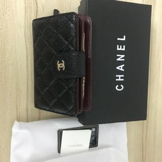 CHANEL - 【CHANEL】 シャネル 二つ折り財布