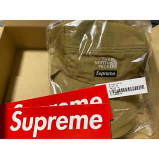 Supreme - supreme north face camp cap gold